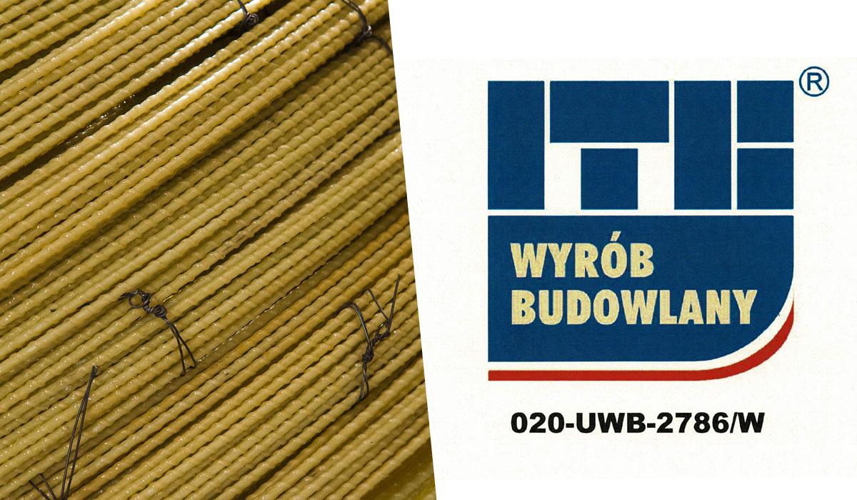 ITB Wyrób Budowlany - Znak certyfikacji